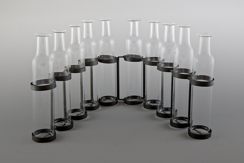 Serpentine Vase 10 Bottle Set Steele Angel