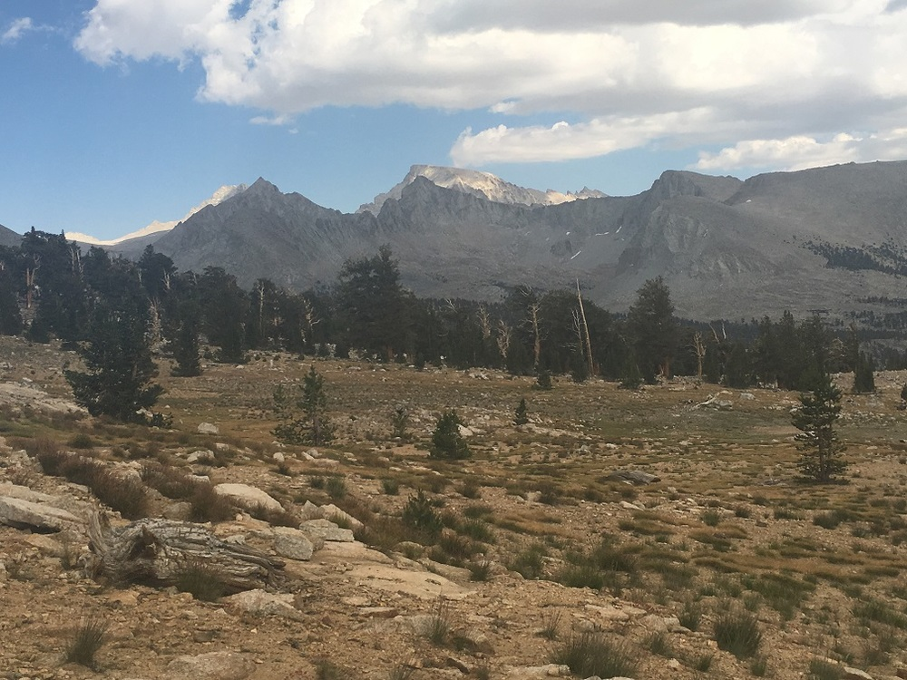 First sighting of Mt. Whitney