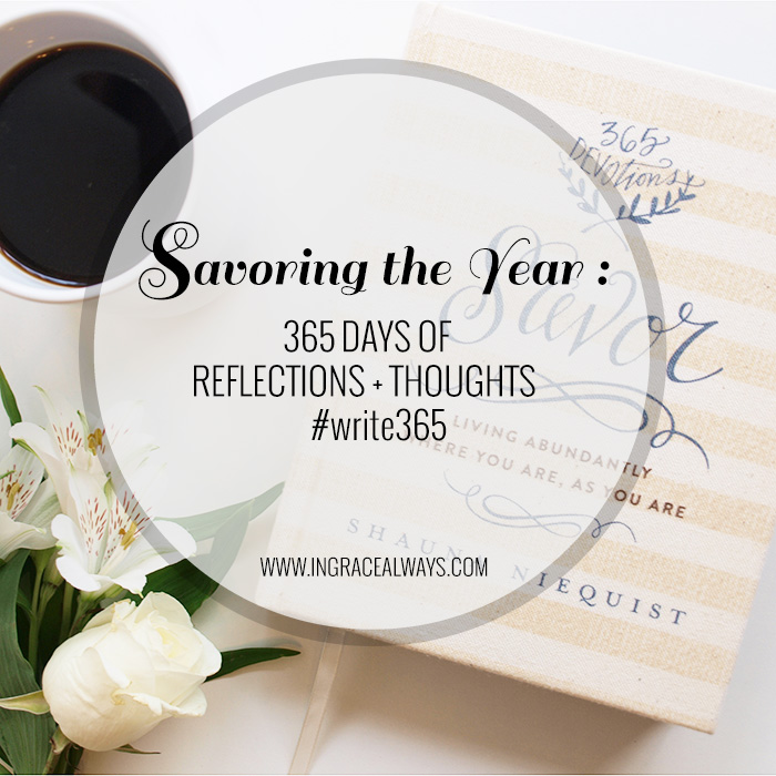 savoring the year — The Inspire Shop