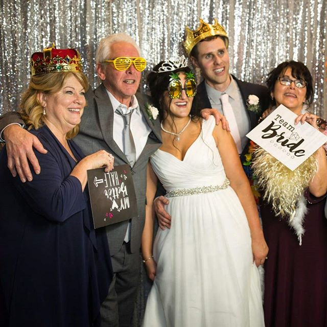 #Photo booths give your guests a fun way to #remember the #special #moments you shared together! . . . . . #party #fun #photobooth #wedding #smile #photography #celebrate #photooftheweek #props #bride #weddingday #weddingdress #weddingphotography #bridal #weddinginspiration #weddingphotographer #groom #instawedding #weddingphoto #weddingplanning #bridesmaids #brides #weddinginspo #weddingdecor #weddingparty #weddinggown