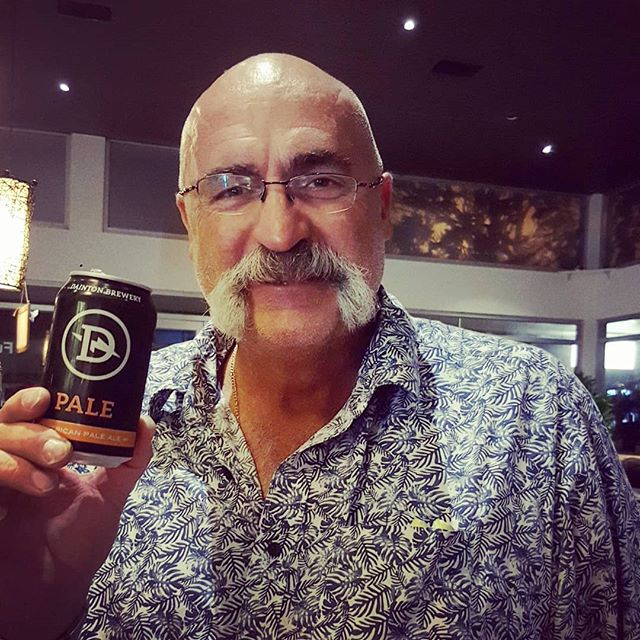Merv enjoying a number of our beers last night at Dapur Kennedy in Pakenham!