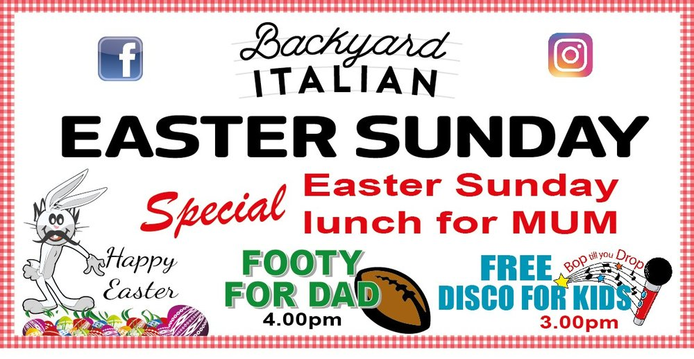 Join Us For A Fun Filled Easter Sunday