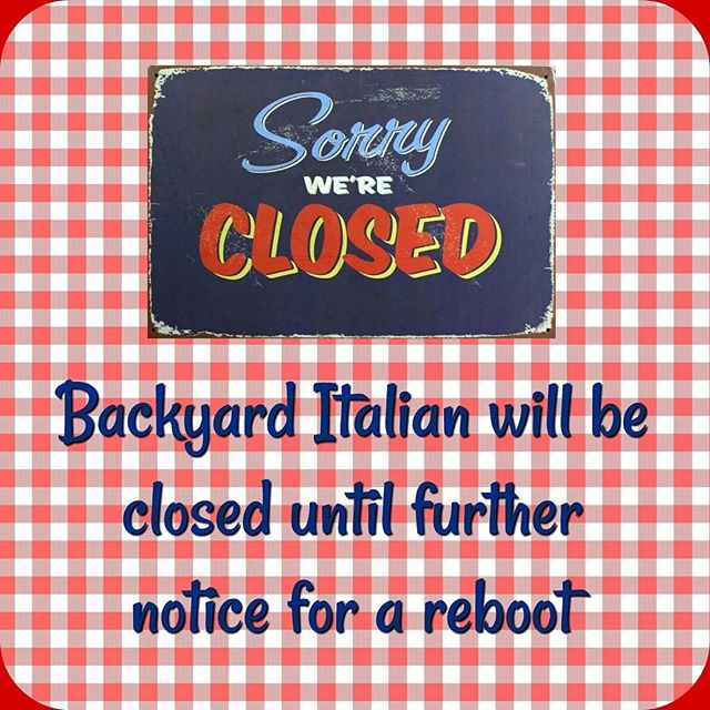Thank you to our lovely customers for your support so far. We have now closed for a reboot, until further notice.