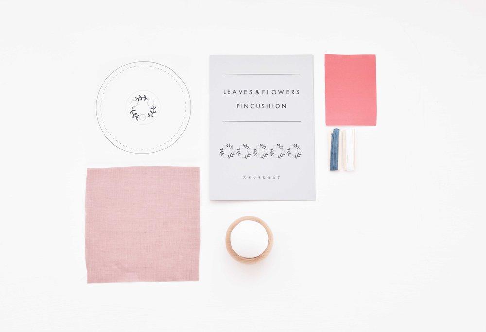 Picture : Design 白いお花のセット内容