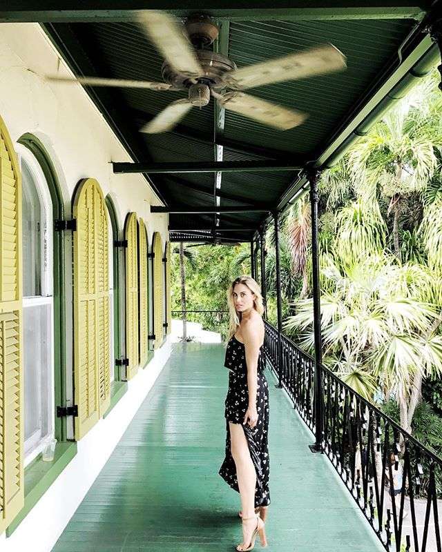 I dream of living in the era of Ernest Hemingway, Ingrid Bergman, Humphrey Bogart.  Oh the stories that must have been told on this very balcony. The Hemingway house was everything I could ever dream of. These walls are magic.