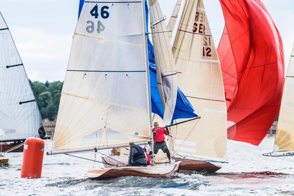 Ruuhkaa slööripoijulla (kuva Sören Hese, sailpower.de)