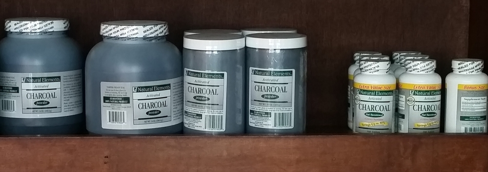 Natural Elements Activated Charcoal