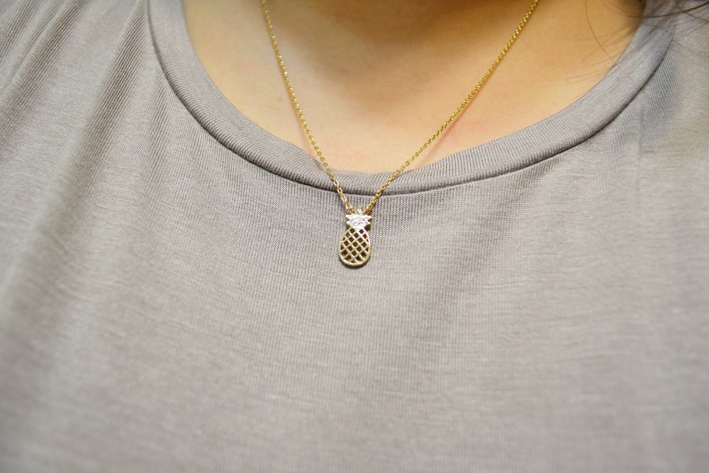 Pineapple Necklace: $5