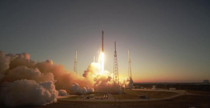 DSCOVR Liftoff  by  NASA Goddard Space Flight Center  licensed under    CC BY 4.0