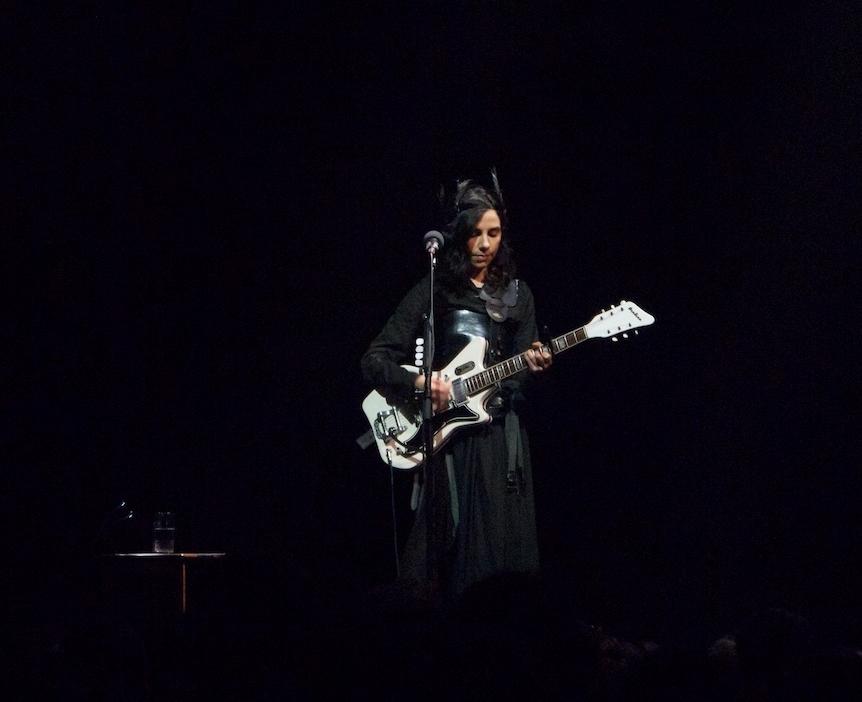 Polly Jean Harvey performing at Paradiso in Amsterdam, 2011.                                                          © GA 2017