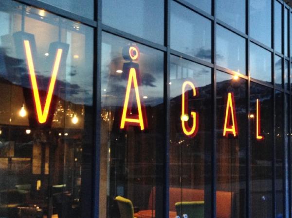 Vågal – brand identity, signage, menu concept