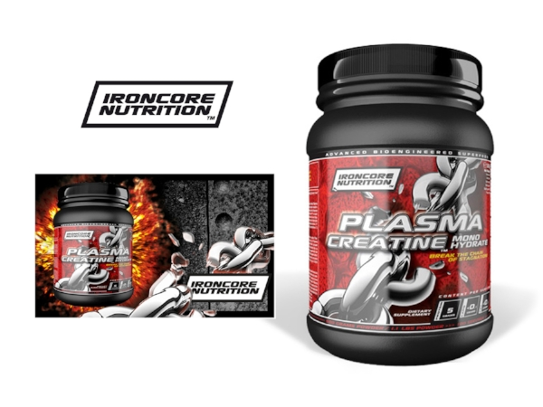 Ironcore Nutrition – brand identity, packaging