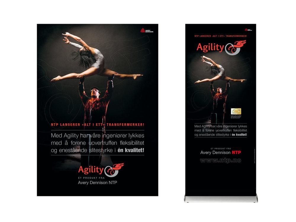Agility – brand identity, concept, marketing communication