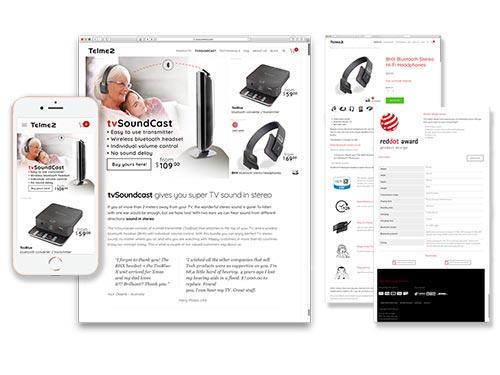 telme2.com – concept, webshop, videos