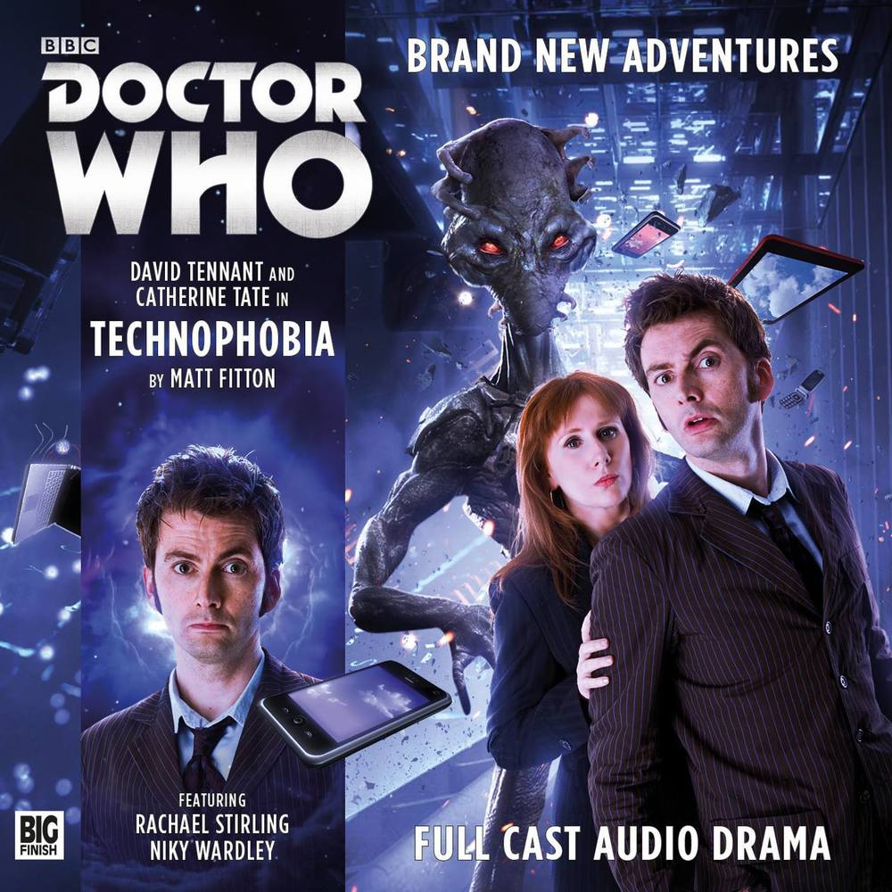 technophobia big finish 10th doctor 10º doutor