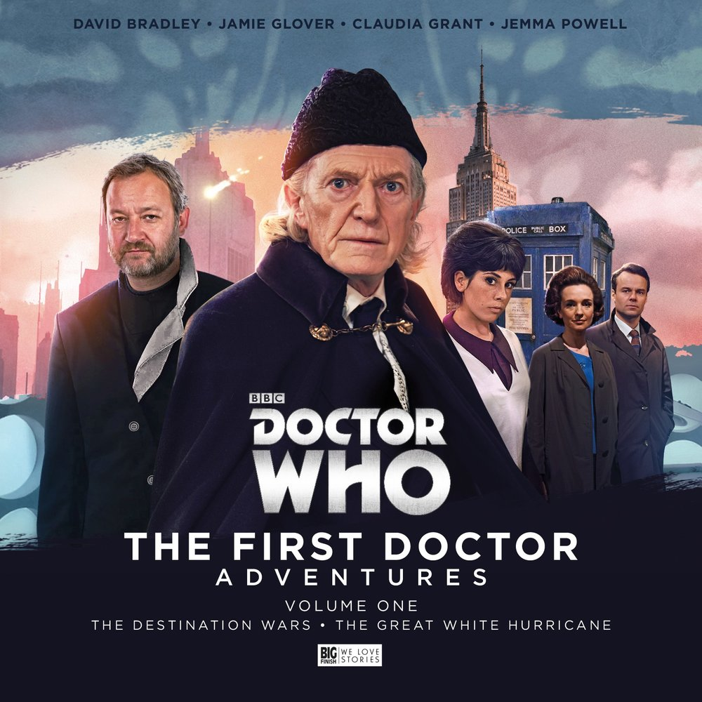 david bradley primeiro doutor big finish
