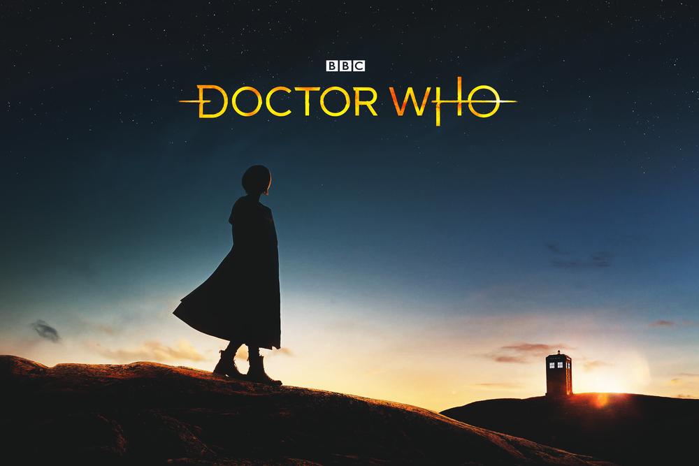 doctor who jodie whittaker novo logo poster 11ª temporada temporada 11