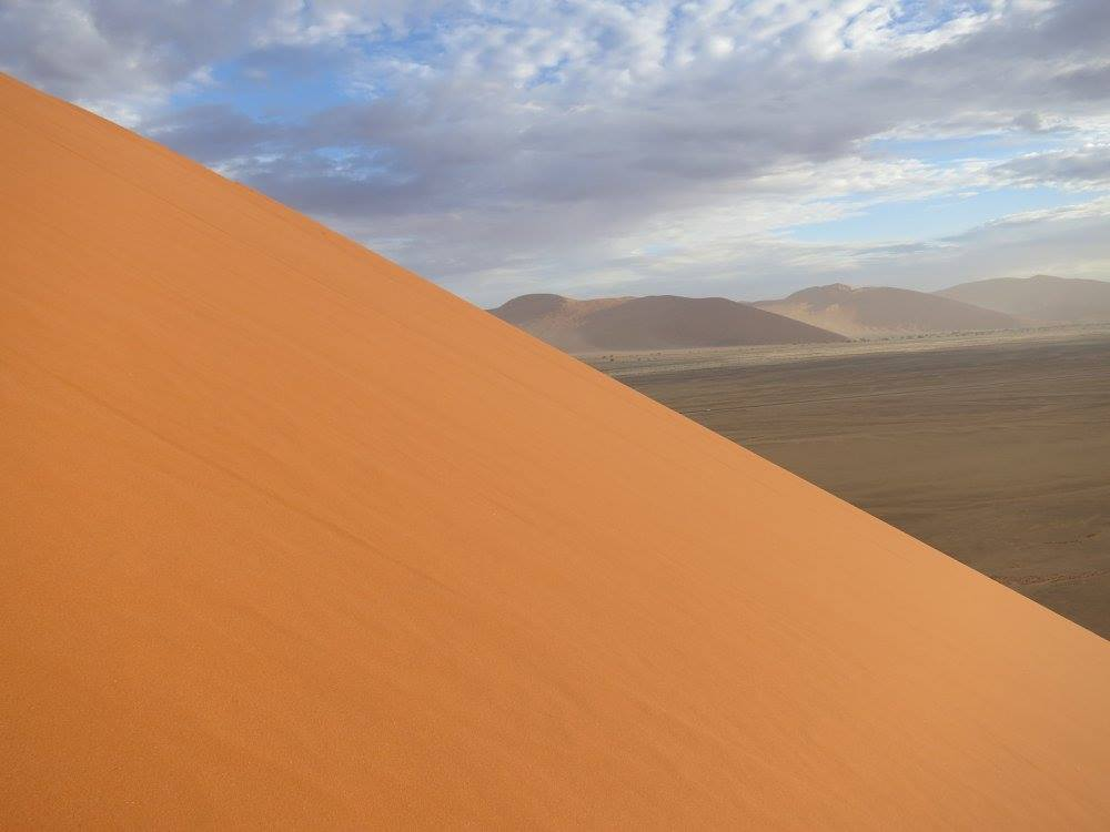 A Namibian sand dune