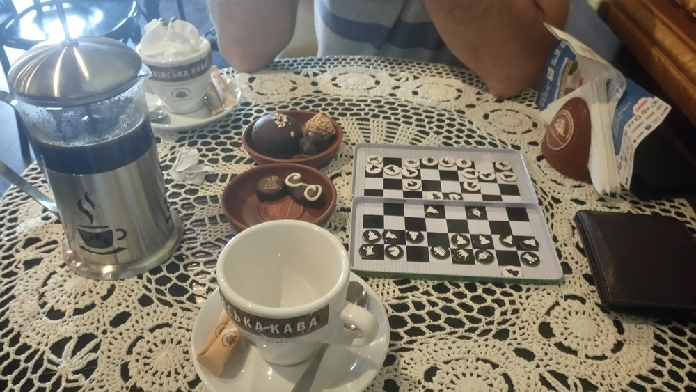 Coffee, chocolate, chess - Kiev, Ukraine