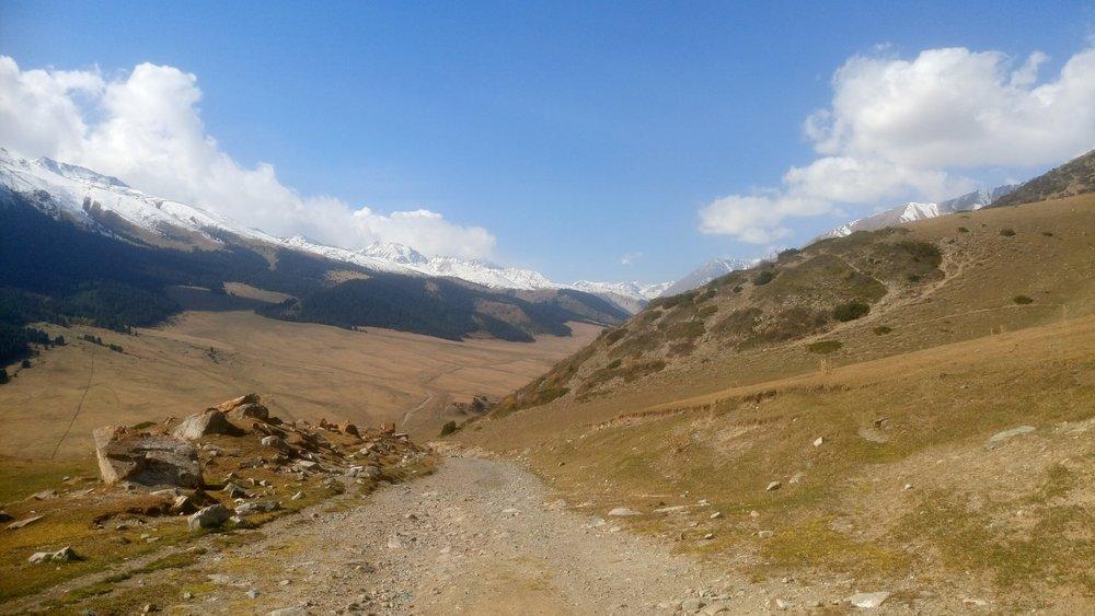 Remote Valley in Kyrgyzstan