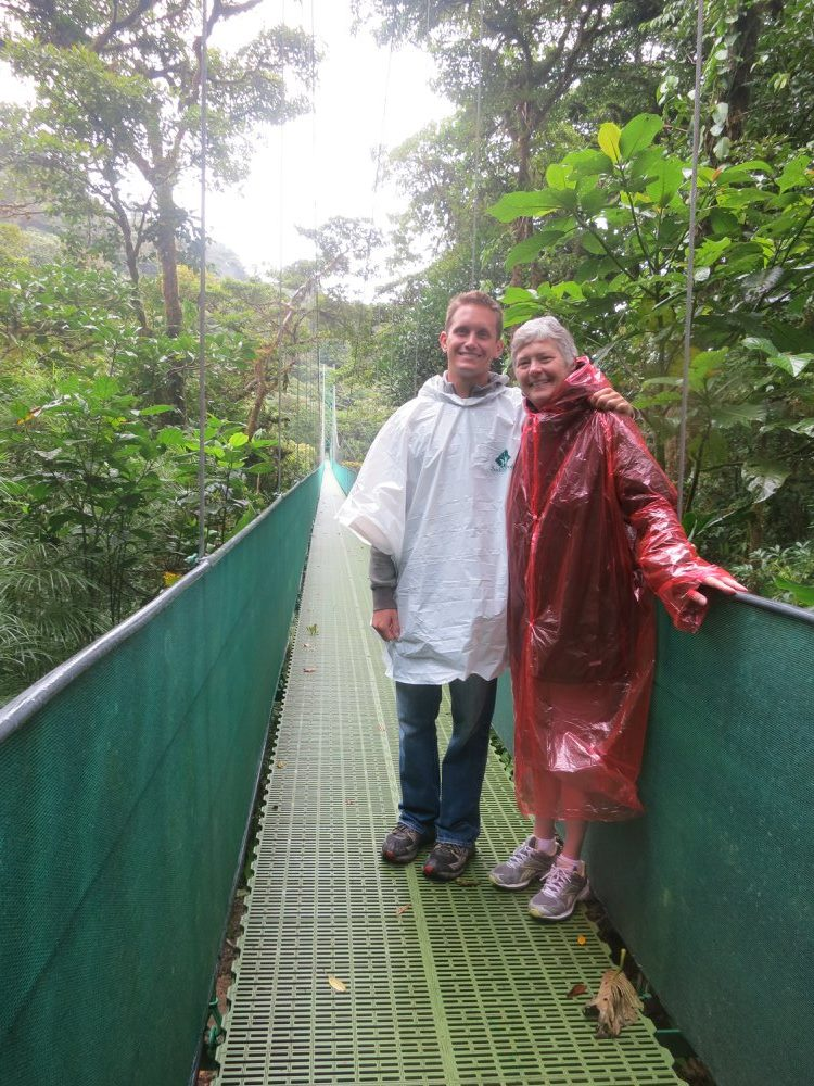 Mom and I in Costa Rica for my 27th birthday