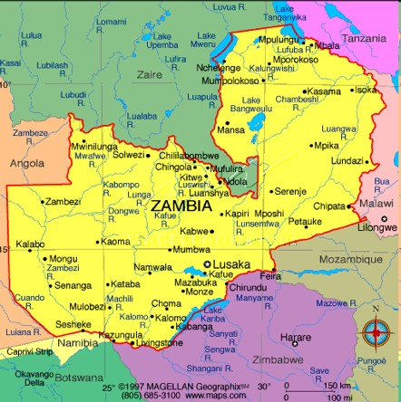 Zambia Project Sites