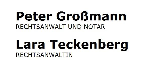 Mietrecht Großmann Und Teckenberg