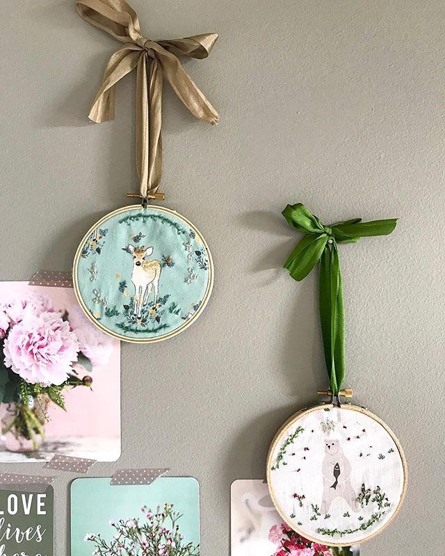 🌿 Embroidery hoops 🎀 #newitem #comingsoon #october #craftfair #pauletmadeleine #handmade #embroideryhoop #indiemadecraftmarket