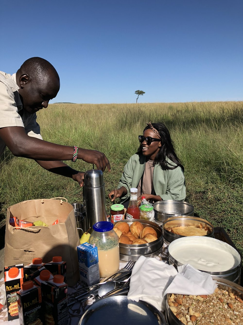 Breakfast in the Savannah