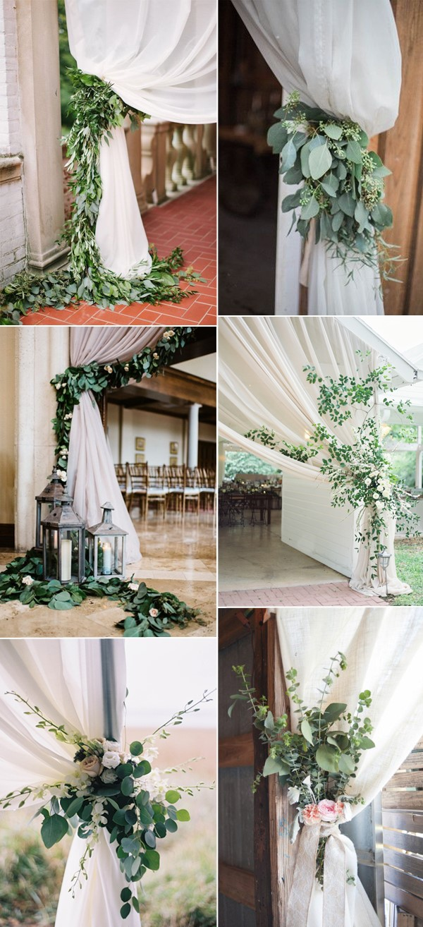 pretty-greenery-wedding-curtain-ties-ideas.jpg