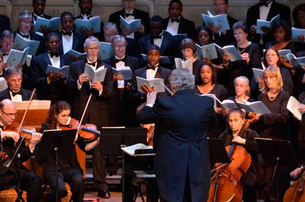 Bach Society of Dayton and Central State University Chorus