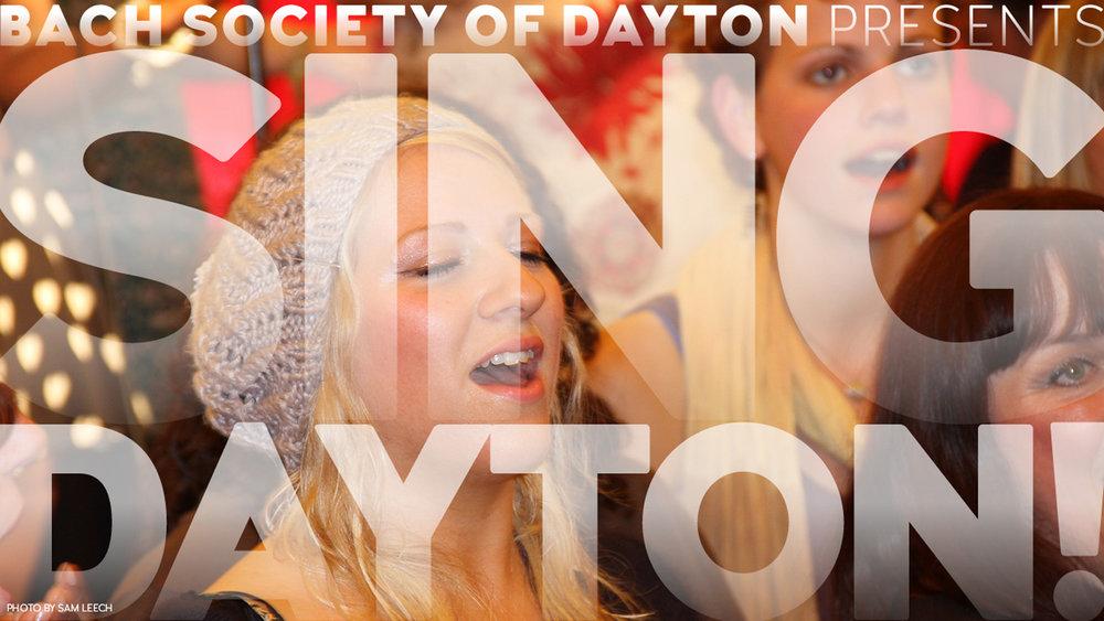 Bach Society of Dayton's Sing Dayton