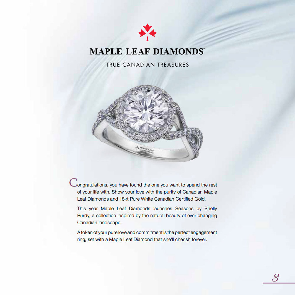 Maple leaf Diamonds a true Canadian treasure.
