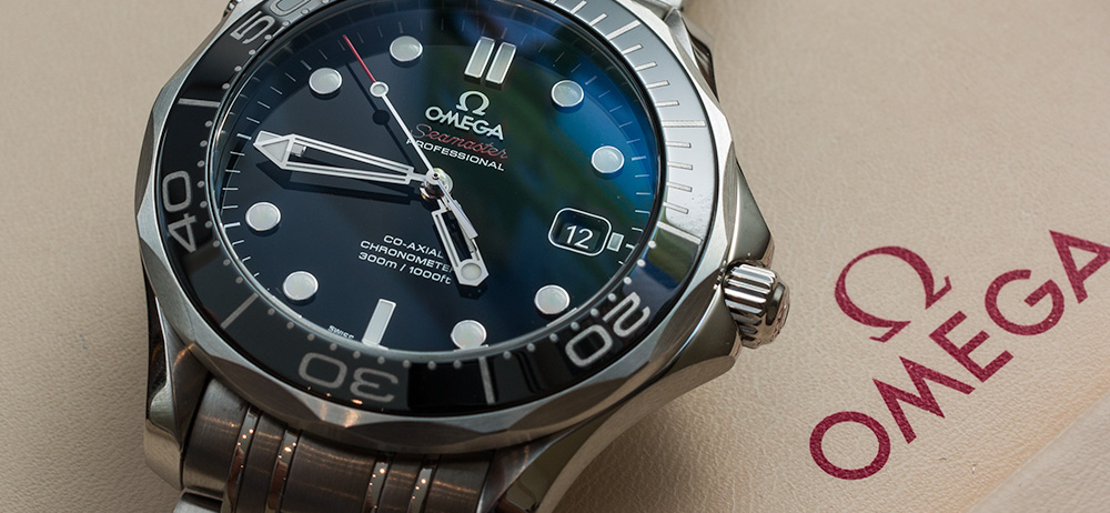 A classic Omega Seamster—Photo: from  aBlogtowatch