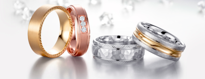 CrownRing designs our collection with aesthetic flair that helps make it a one-of-a-kind wedding band