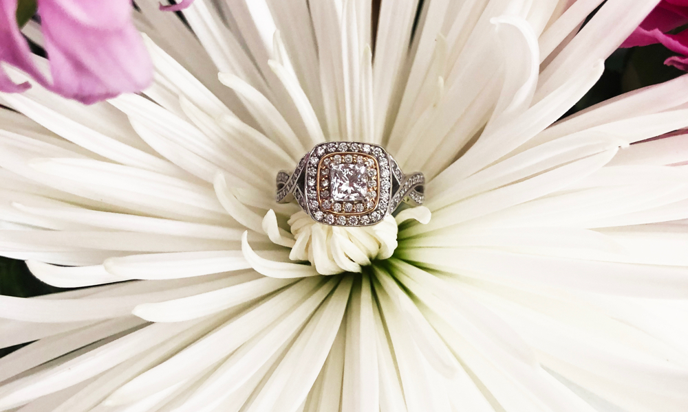 Kris Armstrong engagement ring