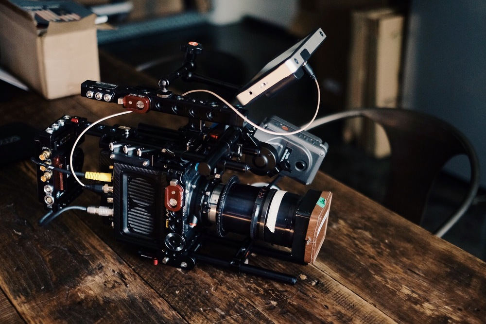 One of our 3 anamorphic setups.