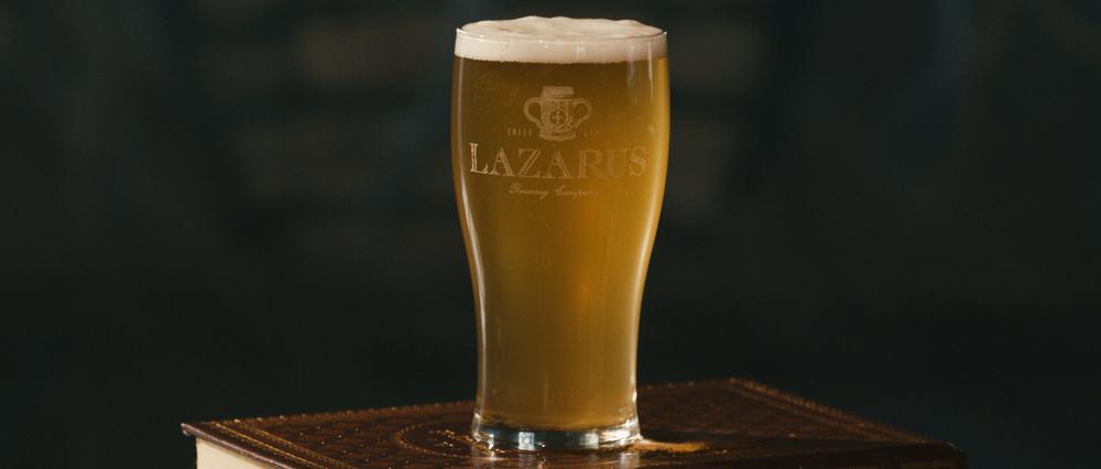 Final beer shot.