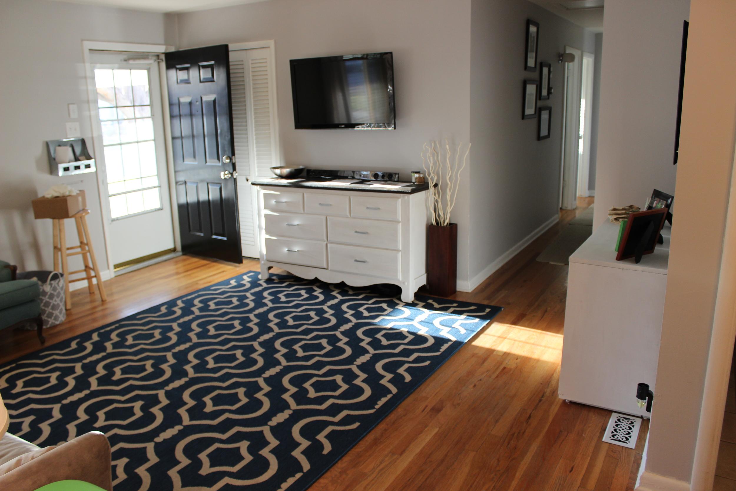 Grape Street Living Room fice Gym Progress — House