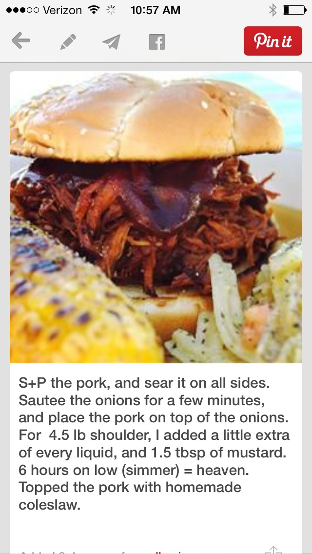 pulled pork pinterest