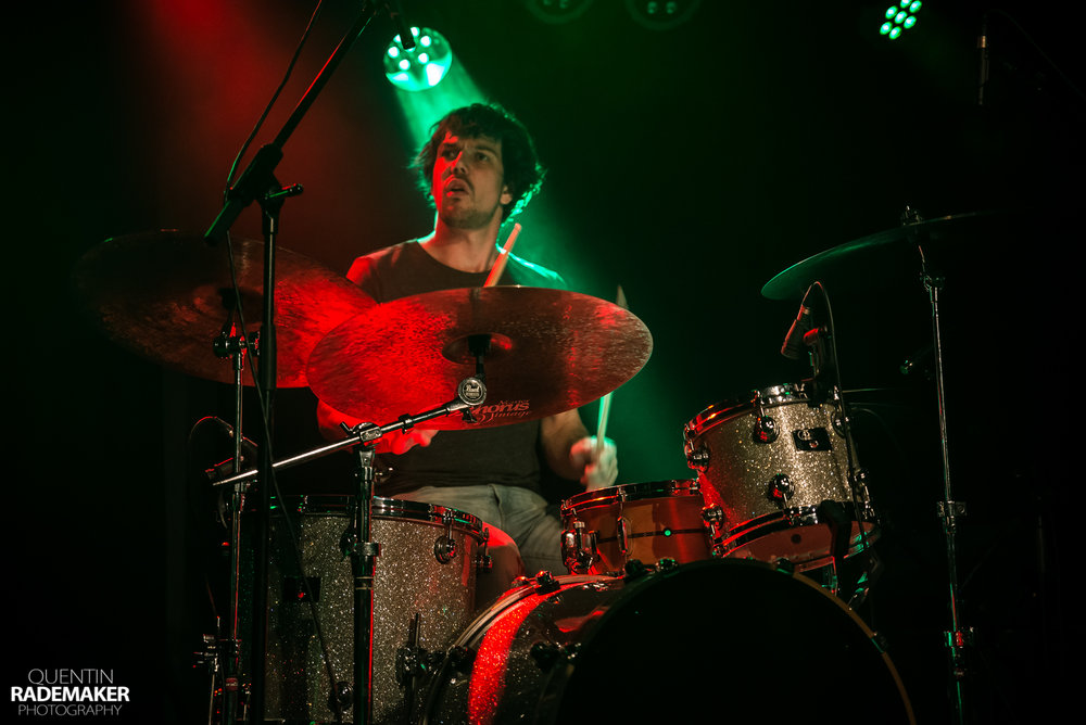 Luuk Adams with his Adams Kit