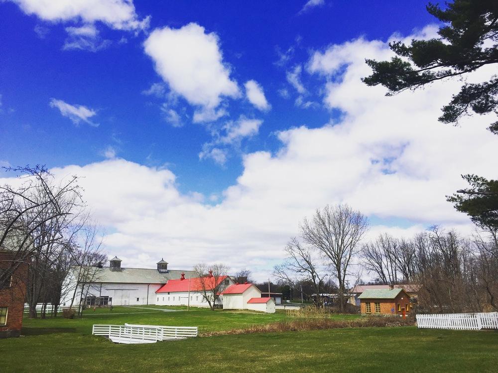 barn wedding venue grounds