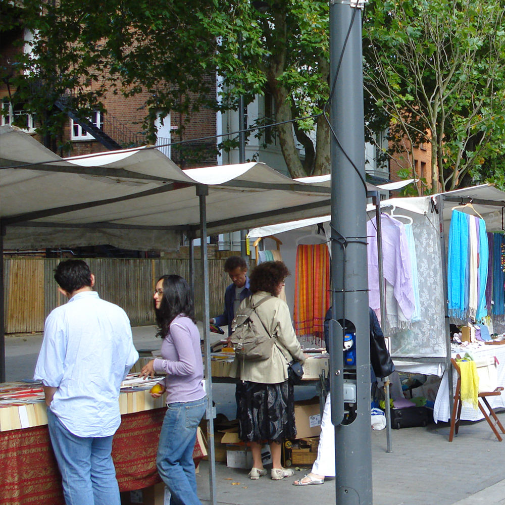 Community-led markets can respond to the specific needs and wants within a place.  London, England