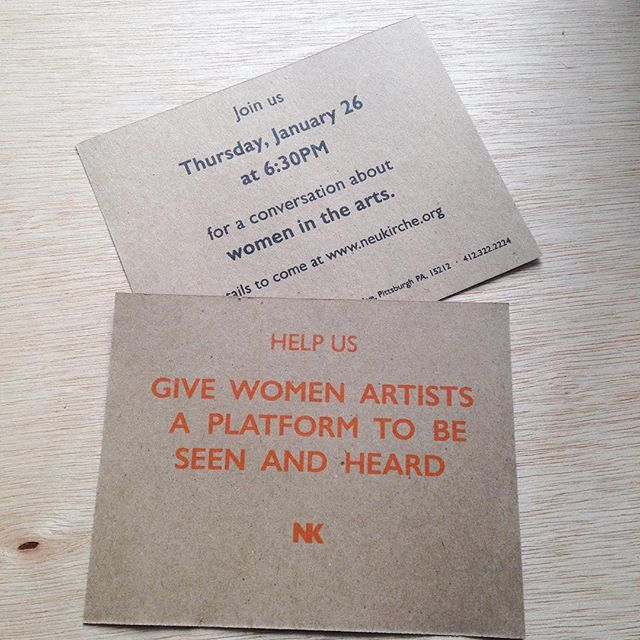 Who's joining us on January 26th to talk about women in the arts?