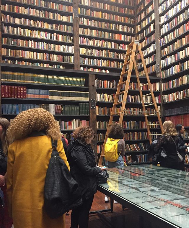 At @theastergates Stony Island Arts Bank in Chicago - over 4,000 books collected by one man over 50 years. Next time you're in Chicago, go and see this incredible building and all it's treasures. #stonyislandartsbank @openengagement