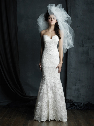 Allure Bridals Cotoure :  C387F  without train