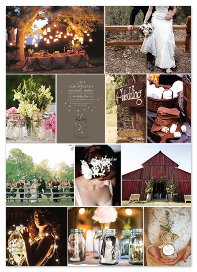 Minted.com  Wedding Inspiration Boards