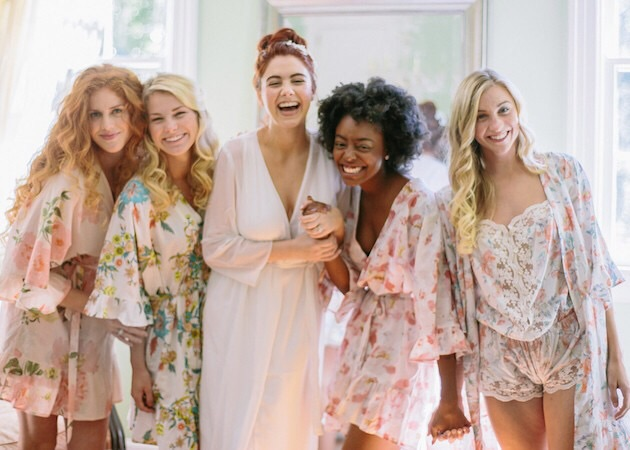 PlumPrettySugar.com   Their bridesmaid robes make the perfect gift
