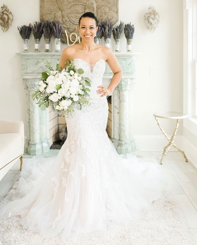 We could hardly hold back our tears at the first look photos of Marie Sophie beautifully captured by @terribaskin. She wore @missstellayork from our boutique and looked like a princess. ✨💕 Venue: @morais_weddings Flowers: @everlastingflowersdc His Shoes: @bally Her Shoes: @vincecamuto Dress: @thebridalroomva Hair: @ringmabelle67 Make-Up: @damii_lovee Suit: @musikafrere Photos: @terribaskin