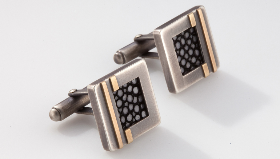 Stingray Stripe Cufflinks.jpg